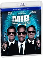 Люди в черном 3 (Real 3D Blu-Ray) / Men in Black III