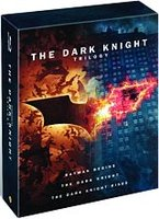 DVD Темный рыцарь: Трилогия (6 DVD + книга) / Batman Begins / The Dark Knight / The Dark Knight Rises