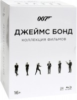 ���� 50 + 007: ���������� ���������. ��������� (24 Blu-Ray) / Bond 50 collection / ������ ��� / �� ������ � ������� / ���������� / ������� ������ / ������ ������ ������ / �� ��������� ������ �� ���������� / ���������� �������� / ���� � ��� ������� / ������� � ������� ���������� /�����, ������� ���� ����� / 007: ����