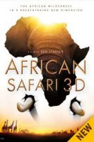 DVD Африканское сафари 3D / African safari 3D
