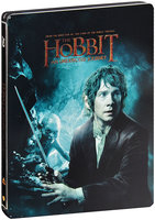 Хоббит: Нежданное путешествие (железный бокс) (2 Blu-Ray)