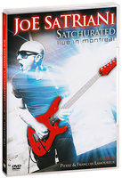 DVD Joe Satriani: Satchurated, Live In Montreal