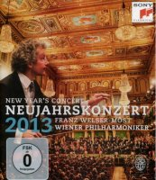 Mariss Jansons & Wiener Philharmoniker: Neujahrskonzert 2013 / New Year's Concer (Blu-Ray)