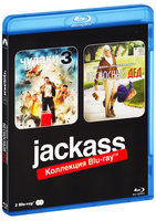 Blu-Ray Чудаки 3 / Несносный дед (2 Blu-Ray) / Jackass 3 / Jackass Presents: Bad Grandpa