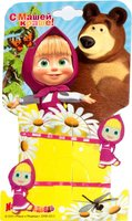 Маша и Медведь: Заколка-невидимка Маша 2 шт розовой