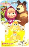 Маша и Медведь: Резинка для волос Маша 2 шт.(желтая)