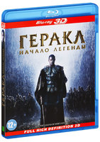 Blu-Ray Геракл: Начало легенды (Real 3D Blu-Ray) / The Legend of Hercules