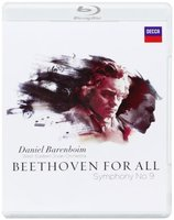 Blu-Ray Daniel Barenboim: Beethoven for All. Symphony No. 9 (Blu-Ray)