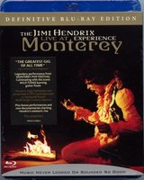 Blu-Ray The Jimi Hendrix Experience: Live at Monterey (Blu-Ray)