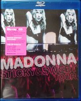 Blu-Ray + Audio CD Madonna: Sticky & Sweet Tour (Blu-Ray + CD)