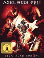 DVD Axel Rudi Pell: Live Over Europe