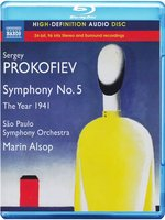 Blu-Ray Prokofiev. Symphony No. 5 / The Year 1941 (Blu-Ray Audio)