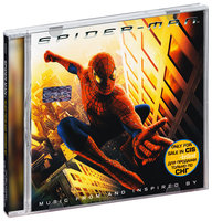 Audio CD Spider Man. Music From And Inspired By