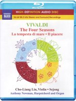 Blu-Ray Vivaldi: The Four Seasons / Violin Concertos, Op. 8, Nos. 5-6 (Cho-Liang Lin, Sejong, Newman) (Blu-Ray Audio)