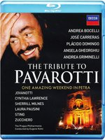 Blu-Ray The Tribute to Pavarotti - One Amazing Weekend in Petra (Blu-Ray)