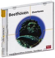 Audio CD Gewandhausorchester Leipzig. Beethoven: Overtures (фирм.)