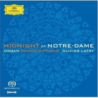 SACD (Super Audio CD) Oliver Latry & Midnight. Notre-Dame
