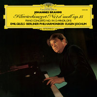 LP Emil Gilels. Johannes Brahms. Piano Concerto No. 1 In D-Minor, Op. 15 (LP)