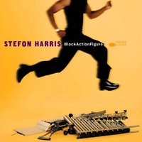 LP Stefon Harris. Black Action Figure (LP)