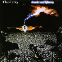 LP Thin Lizzy. Thunder And Lightning (LP)