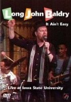 DVD Long John Baldry. It Ain't Easy - Live At Iowa State University
