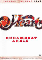 DVD Heart: Dreamboat Annie Live