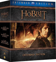 Blu-Ray Хоббит: Трилогия (режиссерская версия) (9 Blu-Ray) / The Hobbit: An Unexpected Journey / The Hobbit: The Desolation of Smaug / The Hobbit: The Battle of the Five Armies