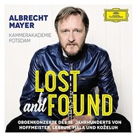 Audio CD Albrecht Mayer. Lost and found