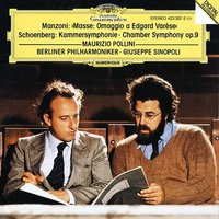 Audio CD Maurizio Pollini. Manzoni. Masse: omaggio a edgard varese. Schoenberg. Chamber symphony Op. 9