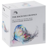 Audio CD Christopher Hogwood.The Bach Recordings