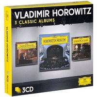 Audio CD Vladimir Horowitz: Three Classic Albums