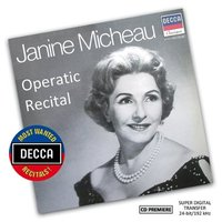 Audio CD Janine Micheau. Operatic Recital