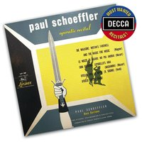 Audio CD Paul Schoffler. Operatic Recital