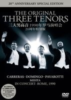 DVD + Audio CD The Original Three Tenors Concert