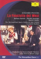 DVD Barbara Daniels, Placido Domingo. Puccini - La Fanciulla del West