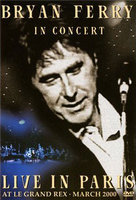 DVD Bryan Ferry. In Concert Live In Paris At Le Grand Rex