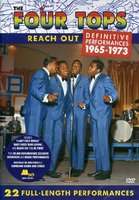 DVD Four Tops. Reach Out / The Four Tops: Reach Out - Definitive Perfomances 1965-1973