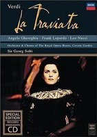 DVD + Audio CD Angela Gheorghiu. Verdi: La Traviata