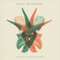Audio CD Alice in chains. The devil put dinosaurs here
