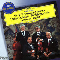 Audio CD Amadeus quartet. Verdi, Tschaikowsky, Smetana. String quartets