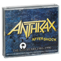 Audio CD Anthrax. Aftershock. The island years 1985-1990