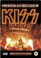 DVD Kiss. Kiss. Konfidential & Extreme Close-Up