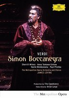 DVD James Levine. Verdi: Simon Boccanegra