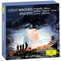 Audio CD Various Artists. Great Wagner Singers