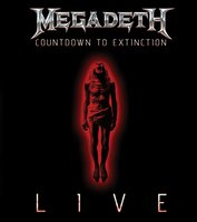Audio CD Megadeth. Countdown to extinction: live