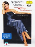 DVD Anne-Sophie Mutter. Beethoven: The Complete Violin Sonatas