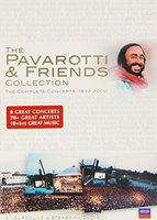 DVD Luciano Pavarotti. The Pavarotti & Friends Collection
