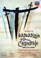 DVD Ruggero Raimondi. Pizzetti: Murder In The Cathedral