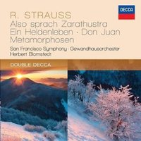 Audio CD Herbert Blomstedt. Strauss: also sprach Zarathustra