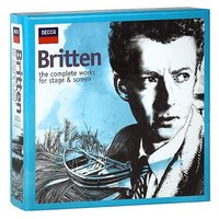 Audio CD Various Artists. Britten. The Complete Works For Stage & Screen